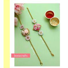 Handmade Rakhi Designs, Bracelet Designs, Jaipur, Heavenly, Celebrities, Bracelets, Instagram, Decor, Celebs