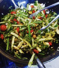 Shaved Michigan Asparagus Salad