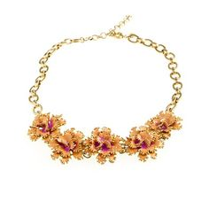J Crew Carnation Necklace