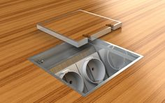 Office Cabling Systems BV (Product) - Luxe vloerdoos voor instort vloeren 8802 - architectenweb.nl