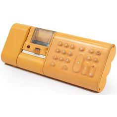 """Mario Bellini, """"Divisumma 18"""" calculator for Olivetti, 1973."""