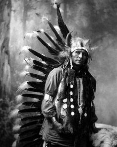 CHIEF LITTLE HORSE-Oglala Lakota