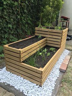 Vege Garden Ideas, Veg Garden, Vegetable Garden Design, Potager Garden, Small Backyard Gardens, Backyard Garden Design, Backyard Landscaping, Backyard Patio, Garden Crafts