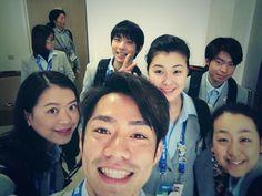 Yuzuru HANYU 羽生結弦--- I adore team Japn