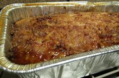 My husband loves when I make this. I have my local deli grind me fresh pork, and smoked ham...is so yummy with scalloped potatoes, and fresh green beans ...I have also made small ham balls, baked, then crock pot with glaze, and had as an appetizer..never any left.