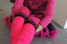Pink and Black Girls  Socks High Knee by Eastalace on Etsy, $13.95 High Knees, Girls Socks, Leg Warmers, Black Girls, Halloween, Trending Outfits, Awesome, Pink, Clothes