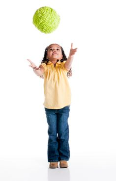 how to teach little kids to catch. Great ways to improve hand eye coordination.