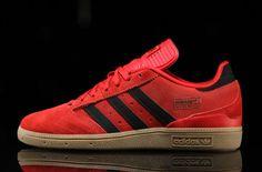 http://SneakersCartel.com Fiery Red Suede Covers The adidas Busenitz #sneakers #shoes #kicks #jordan #lebron #nba #nike #adidas #reebok #airjordan #sneakerhead #fashion #sneakerscartel
