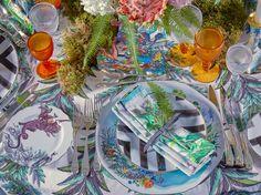 Retour en beauté de notre magnifique table Christian Lacroix Maison lors de l'événement AD Middle East à Abu Dhabi… Our beautiful Christian Lacroix Maison table set up was presented in the #ADArtOfDining event in Abu Dhabi! #ChristianLacroix #TableWare #Lifestyle #Bloom #LacroixLovesFlowers #Paris