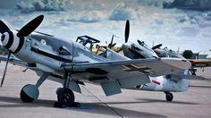 World War II Luftwaffe fighter the Bf-109