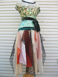 Bohemian Kouture Upcycled Clothing Cottage by BohemianKouture, $129.00