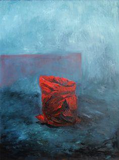 "Maria Temnitschka, ""Lost in Thought 19, 2014, Öl/Lw, 160x120cm"