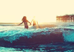 jump the wave. ♡