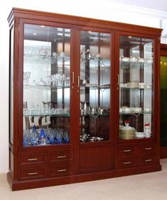 35 Contemporary Wooden Cupboard Cabinets Designs Ideas - Dwell Of Decor Living Room Design Images, Home Room Design, Living Room Designs, Bedroom Furniture Design, Home Decor Furniture, Dining Furniture, Furniture Outlet, Discount Furniture, Wooden Cupboard