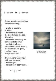 I awake in a dream Cindy Smith