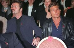 George Michael with Kenny Goss - Richard Young/Rex Shutterstock