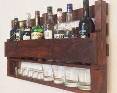 Estante del estante del vino vino de la madera estante del