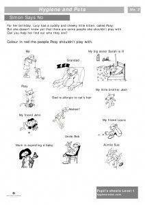 15 best hygiene and pets worksheets images kids worksheets personal hygiene worksheets for kids. Black Bedroom Furniture Sets. Home Design Ideas