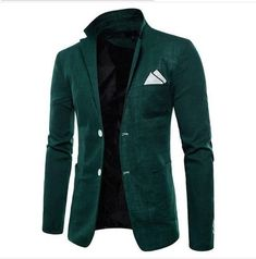 New Clothing Suit Men Blazer Fashion Solid Color Cotton Slim Fit Blazer Masculino Casual Male Suits Jacket Blazers For Men Casual, Casual Blazer, Blazer Outfits, Blazer Dress, Dress Outfits, Mens Fashion Blazer, Mens Blazer Styles, Women Blazer, Mens Suits
