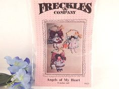 Angel Doll Wall Hanging Ornament Sewing Craft Pattern 8 Inch Angels of My Heart