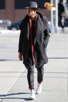 New York Fashion Week Men's Fall '16 StreetStyle