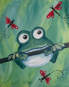 Join us for a Paint Nite event Sun Jan 2018 at 7401 Laguna Blvd Elk Grove, CA. Purchase your tickets online to reserve a fun night out! Easy Canvas Painting, Spring Painting, Painting For Kids, Painting & Drawing, Painting Lessons, Painting Tips, Kids Canvas, Canvas Art, Acrylic Canvas