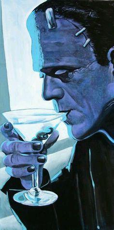 Everyone needs a break #Frankenstein