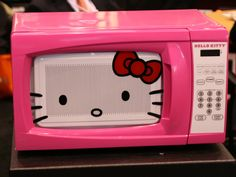 Everyone will want to have popcorn and movie night in her room with this adorable microwave #minifridge #toaster