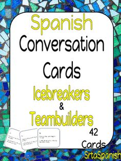 Question cards to help your students start some conversations and practice talking about themselves and their interests.