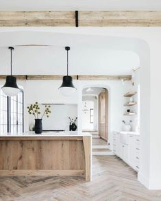 Home Interior Salas .Home Interior Salas Home Design, Küchen Design, Design Shop, Design Ideas, Modern Farmhouse Kitchens, Home Kitchens, Rustic Farmhouse, Rustic Kitchen, Remodeled Kitchens
