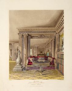 RR, The Alcove - Golden Drawing Room, Carlton House