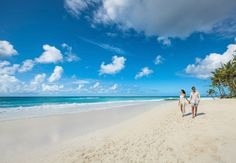 'Romantic walks on the beach' is kind of our thing. Explore the sun and sand at Sandals Barbados. #sandalsresorts
