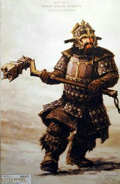 Bofur's battle armor