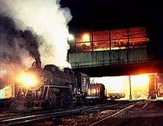 Northwestern Steel and Wire locomotive number July 1964 Train Tracks, Train Rides, Rock Falls, Railroad Photography, Rail Car, Night Train, Old Trains, Train Engines, Steam Locomotive