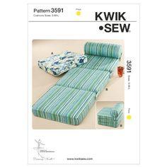 Kwik Sew Schnittmuster 3591 Sitzkissen S-M-L