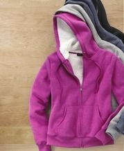 Jessica Sherpa-Lined Hoody from Sears Catalogue $35.99 (40% Off) til Jan 18 Womens Sherpa, Sherpa Lined, Hooded Jacket, Hoodies, Clothes, Wonderland, Nice, Products, Fashion