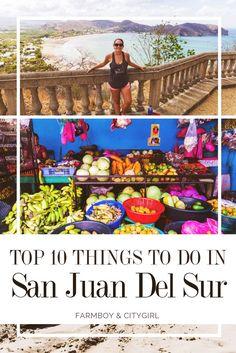 Top 10 Things To Do In San Juan Del Sur, Nicaragua | FarmBoy & CityGirl