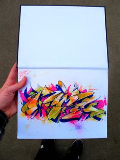 "Graffiti Blackbook work by ""RIME"" Love Graffiti, Graffiti Writing, Graffiti Tagging, Graffiti Designs, Graffiti Alphabet, Graffiti Styles, Graffiti Lettering, Graffiti Artists, 3d Street Art"