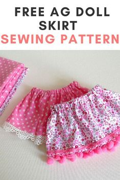 This is a doll skirt sewing pattern for inch American doll. You can use this pattern to sew a mini, midi or maxi skirt for the doll. Sewing Doll Clothes, American Doll Clothes, Girl Doll Clothes, Girl Dolls, Barbie Clothes, Doll Dress Patterns, Skirt Patterns Sewing, Skirt Sewing, Pixie