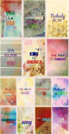 Every Directioner repin this! All the songs that One Direction sang on their live shows during their time on the X Factor