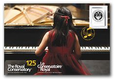 Canada Post  2012  The Royal Conservatory 125th Anniversary