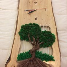 Hobbies And Crafts, Diy And Crafts, Arts And Crafts, Weaving Art, Loom Weaving, Tapestry Loom, Yarn Wall Art, Macrame Owl, Knit Art