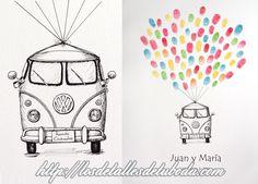 Blog de los detalles de tu boda | Libros de firmas originales con huellas | http://losdetallesdetuboda.com/blog/libros-de-firmas-originales-huellas/