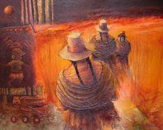 pinturas peruanas al oleo - Buscar con Google