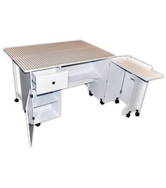 Saw one of these tables at Joann's today... pretty good deal if I have a 50% off coupon!