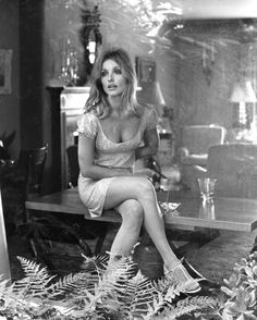 Sharon Tate During the Filming of the Movie 'Valley of the Dolls' Candid Photo