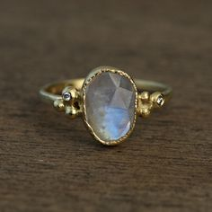 Moonstone Ring. Love this