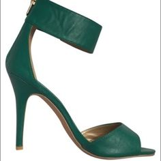 Heels! New heels! Comes new in box, just tried on. Seafoam green Shoes Heels