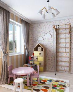 Decor, Furniture, Loft, Loft Bed, Home Decor, Curtains, Bed, Views