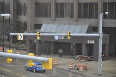 At & T offices in downtown Detroit